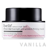 Belif First Aid Overnight Anti-Wrinkle & Firming Mask
