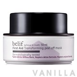 Belif First Aid Transforming Peel Off Mask