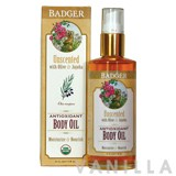 Badger Unscented Antioxidant Body Oil
