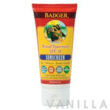 Badger Lavender Broad Spectrum SPF 18 Sunscreen