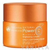 Oriental Princess Natural Power C Miracle Brightening Complex Daily Lightening Cream