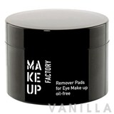 Make Up Factory Eye Make Up Remover Pads