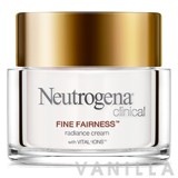 Neutrogena Clinical Fine Fairness Radiance Cream