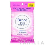 Biore Sara Sara Powder Sheet Fresh Soap