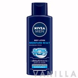 Nivea For Men Moisture 10-In-1 Body Lotion