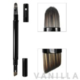 QVS Retractable 2-in-1 Eye Brush