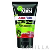 Garnier Men AcnoFight Wasabi Foam