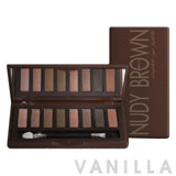 Mistine Nudy Brown Complete Eye Palette
