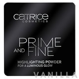 Catrice Prime And Fine Highlighting Powder For a Luminous Glow