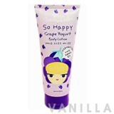 Cathy Doll So Happy Grape Yogurt Body Lotion