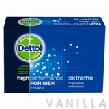 Dettol High Performance For Men Extreme Soap