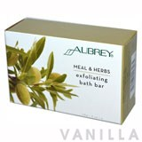 Aubrey Organics Meal & Herbs Exfoliating Bath Bar