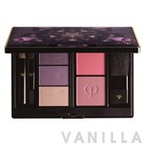 Cle de Peau Beaute Wintry Flower Kit  Satin Eye Color And Cheek Color