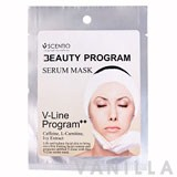 Scentio Beauty Program Serum Mask V-Line Program++