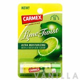 Carmex Lime Twist Moisturizing Lip Balm SPF15