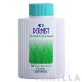 Dermist Rice & Tea Tree Powder