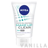 Nivea White Oil Control Make Up Clear Mud Foam