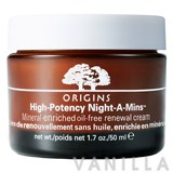 Origins High Potency Night-A-Mins Mineral-Enriched Oil-Free Renewal Cream