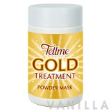 Tellme Gold Treatment Powder Mask