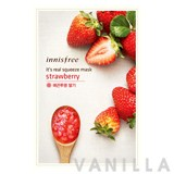 Innisfree It's Real Squeeze Mask Strawberry