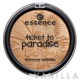 Essence Ticket to Paradise Shimmer Powder
