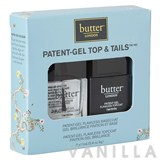 Butter London Patent-Gel Top & Tails Set