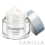 Neutrogena Fine Fairness Gel Cream