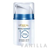 L'oreal White Perfect Total 10 Day Cream SPF30 PA+++