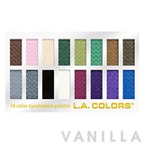 L.A. Colors 16 Color Eyeshadow