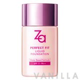 Za Perfect Fit Liquid Foundation