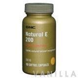 GNC Natural Vitamin E