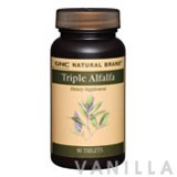 GNC Natural Brand Triple Alfalfa