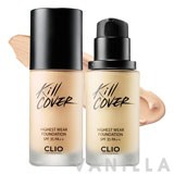 Clio Kill Cover Highest Wear Foundation SPF35 PA++