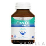 Amsel Fish Oil 1,000 MG. With Vitamin E Softgels