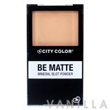 City Color Mineral Blot Powder