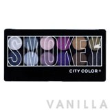 City Color Smokey Eye Shadow Palette