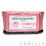 Petal Fresh White Radiance Brightening Rose Calming Facial Cleansing Wipes