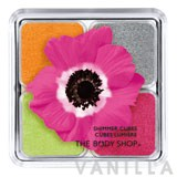 The Body Shop Poppy Shimmer Cubes