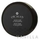 Or'agan Black Soap with Eucalyptus