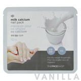The Face Shop Milk Calcium Nail Pack