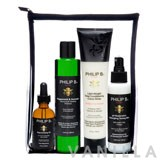 Philip B Four Step Hair & Scalp Treatment Set (Paraben-Free Formula)