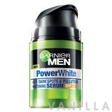 Garnier Men Power White Anti Dark-Spots & Pollution Whitening Serum SPF30 PA+++