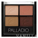 Palladio Eyeshadow Quads