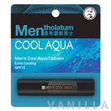 Mentholatum Men's Cool Aqua Lip Balm SPF 15