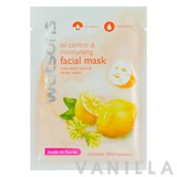 Watsons Oil Control & Moisturising Facial Mask with Witch Hazel & Lemon Water