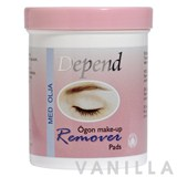 Depend Eye Make-Up Remover Pads With Oil