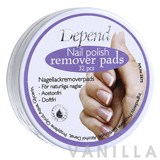 Depend Nail Polish Remover Pads Adourless/Fast