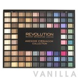 Make Up Revolution Awesome Eyeshadow Collection