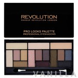 Make Up Revolution Pro Looks Palette Professional Eyeshadows
