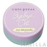 Cute Press Bye Bye Oil Rosy Skin Powder